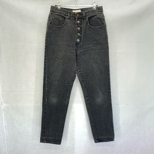 Jeanjer vintage button fly high waisted mom jeans